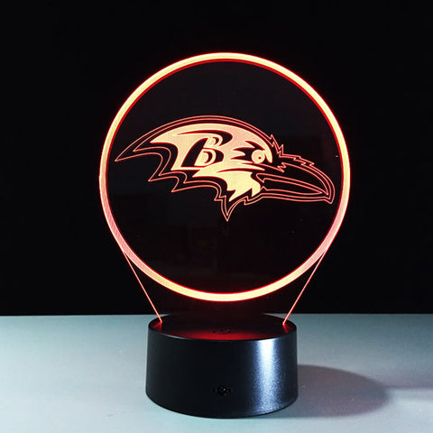 Baltimore Ravens Logo Hologram
