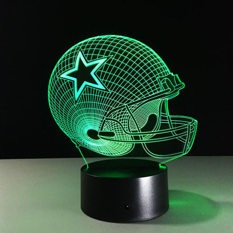 Dallas Cowboys Helmet Hologram