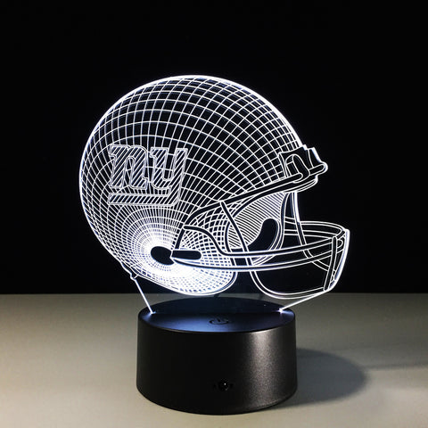 New York Giants Helmet Hologram