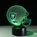 Oakland Raiders Helmet Hologram