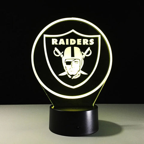 Oakland Raiders Logo Hologram
