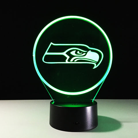 Seattle Seahawks Logo Hologram