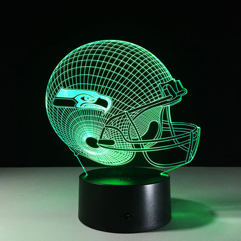 Seattle Seahawks Helmet Hologram