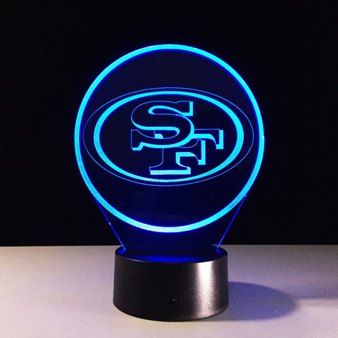 San Francisco 49ers Logo Hologram