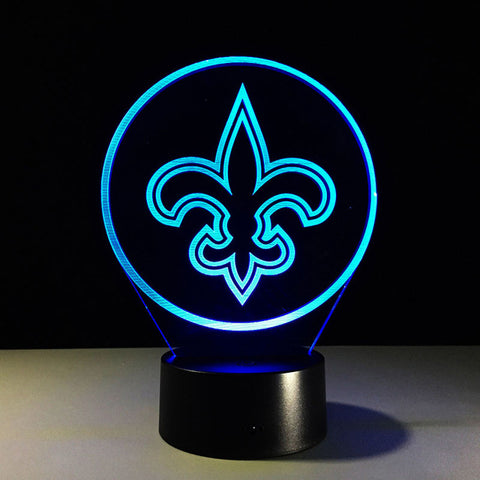 New Orleans Saints Logo Hologram
