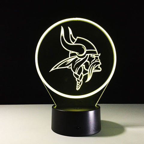 Minnesota Vikings Logo Hologram
