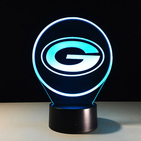 Green Bay Packers Logo Hologram