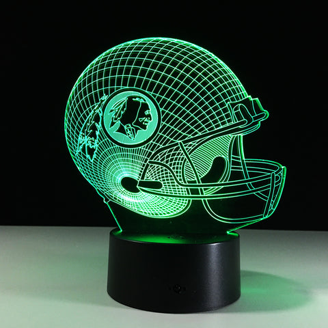 Washington Redskins Helmet Hologram