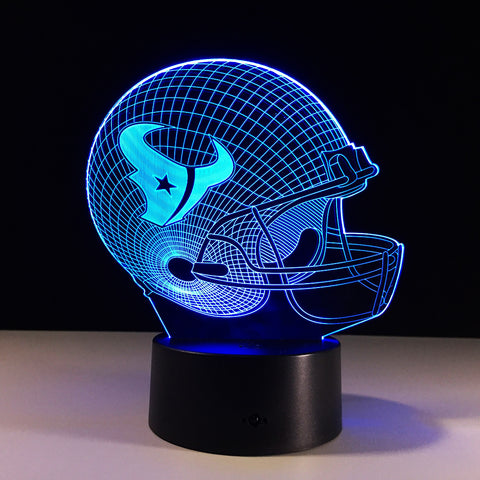 Huston Texans Helmet Hologram