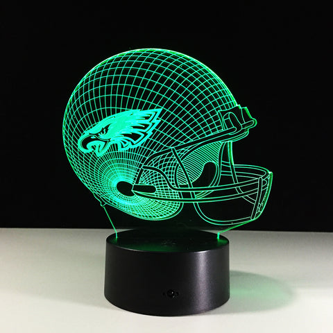 Philadelphia Eagles Helmet Hologram