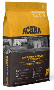 ACANA Free Run Poultry Formula Grain Free Dry Dog Food