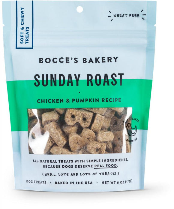 Bocce's Bakery Every Day Sunday Roast Soft & Chewy Dog Treats