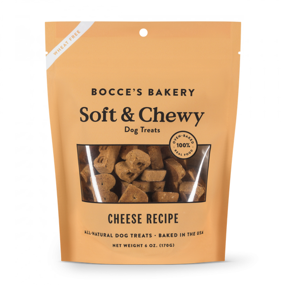 Bocce's Bakery Soft & Chewy Cheese Recipe Dog Treats