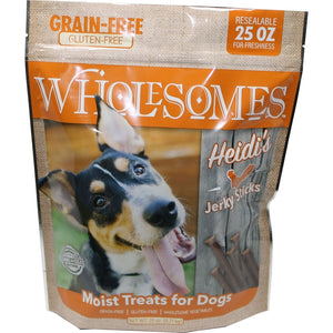 Wholesomes Grain Free Moist Treats For Dogs