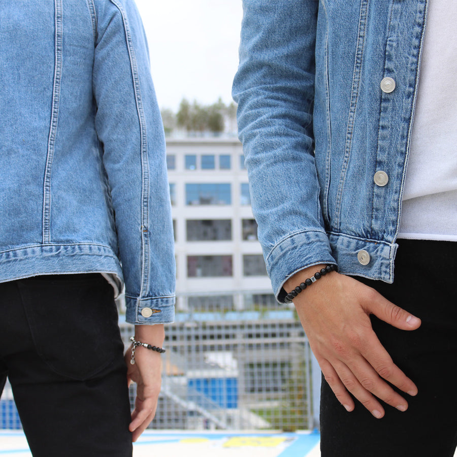 President Penguin Supernova Bracelet - Denim Jacket #2