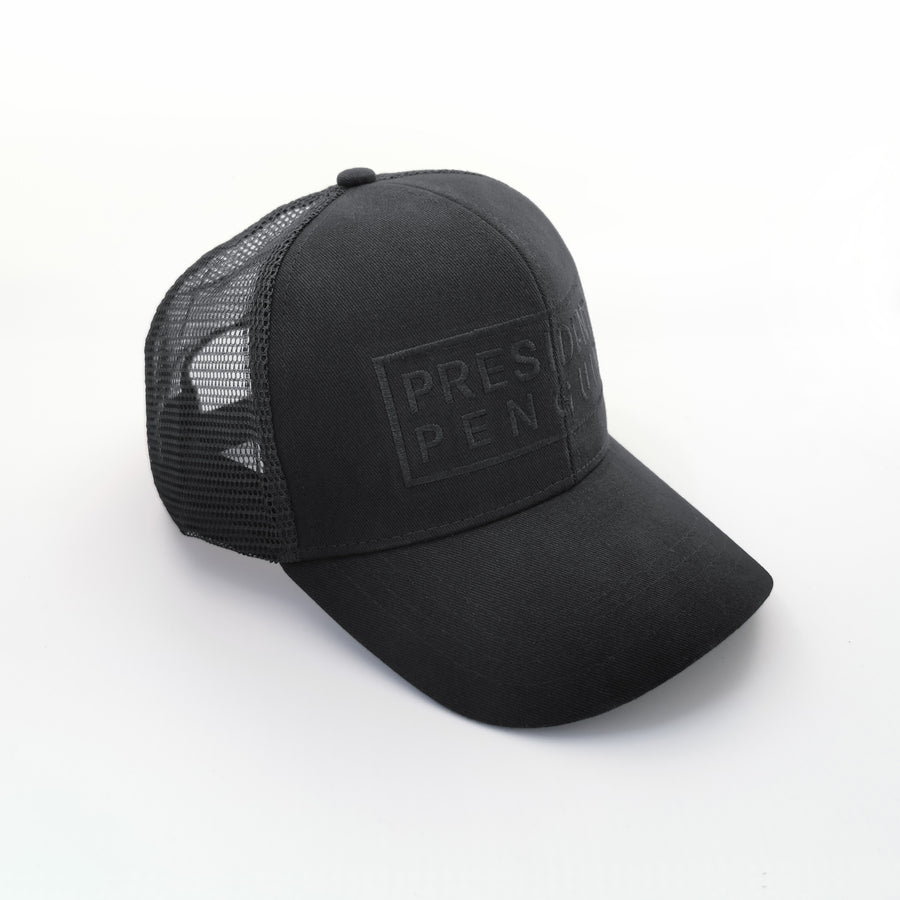 Right left - President Penguin Trucker Cap Duyster
