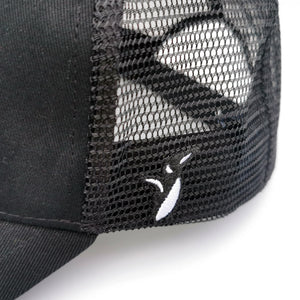 Penguin logo on side - President Penguin Trucker Cap Duyster