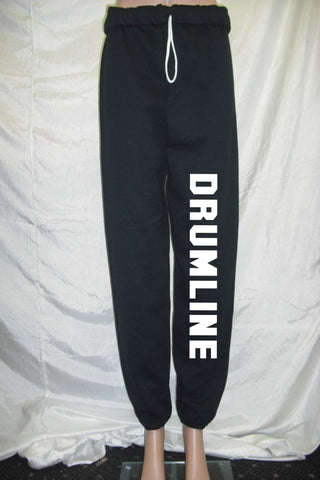 Drumline Black Fleece Pants
