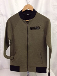 Guard Military Green Bomber Jacket