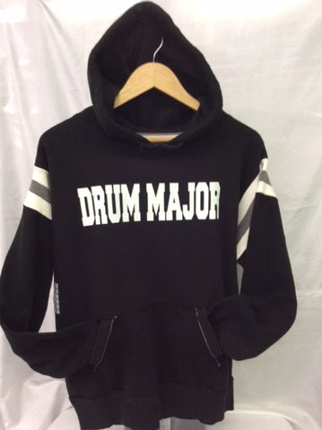 Drum Major Black & White Hoodie