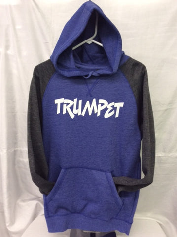Trumpet Heather Royal/Heather Charcoal Hoodie
