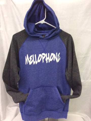 Mellophone Heather Royal/Heather Charcoal Hoodie