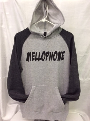Mellophone Heather Grey/Heather Charcoal Hoodie