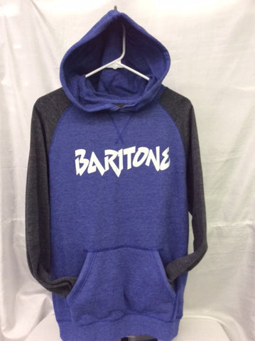Baritone Heather Royal/Heather Charcoal Hoodie
