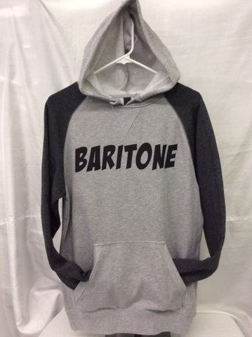 Baritone Heather Grey/Heather Charcoal Hoodie