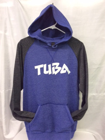 Tuba Heather Royal/Heather Charcoal Hoodie