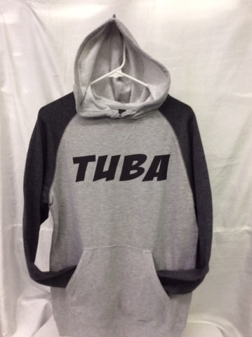 Tuba Heather Grey/Heather Charcoal Hoodie