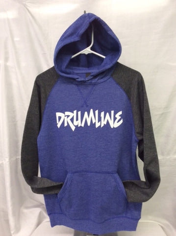 Drumline Heather Royal/Heather Charcoal Hoodie
