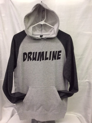 Drumline Heather Grey/Heather Charcoal Hoodie
