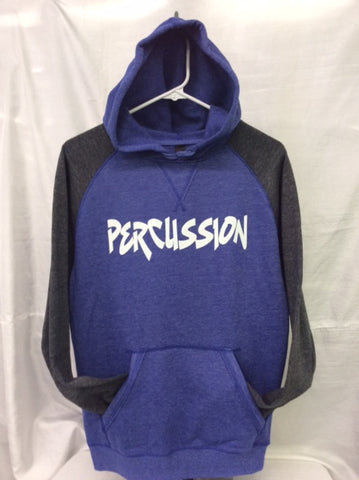 Percussion Heather Royal/Heather Charcoal Hoodie