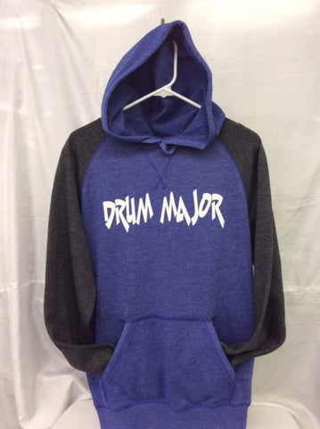 Drum Major Heather Royal/Heather Charcoal Hoodie