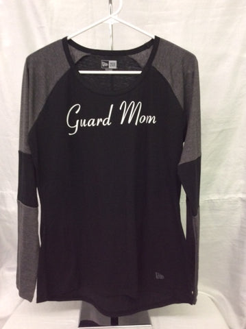 Guard Mom Black/Graphite Long Sleeve Tee