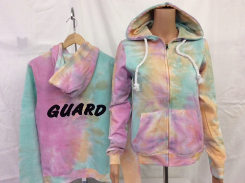 Guard Tie Dye Zip Jacket