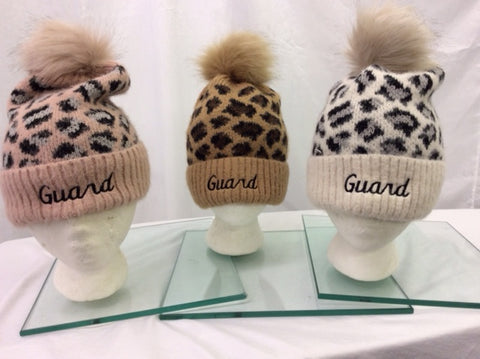 Copy of Guard Leopard Knit Hats