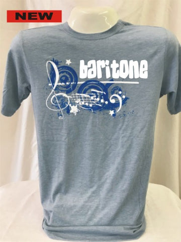 Baritone Stonewashed Denim Music Tee