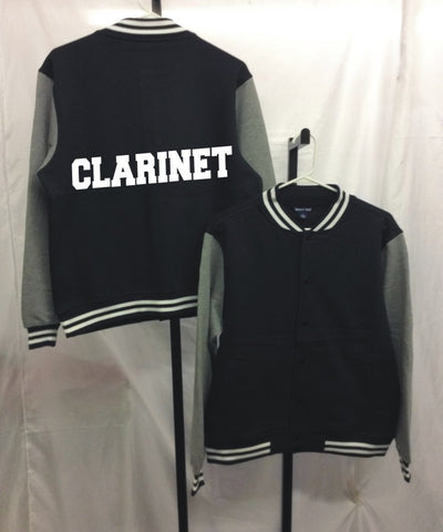 Clarinet Letterman Jacket