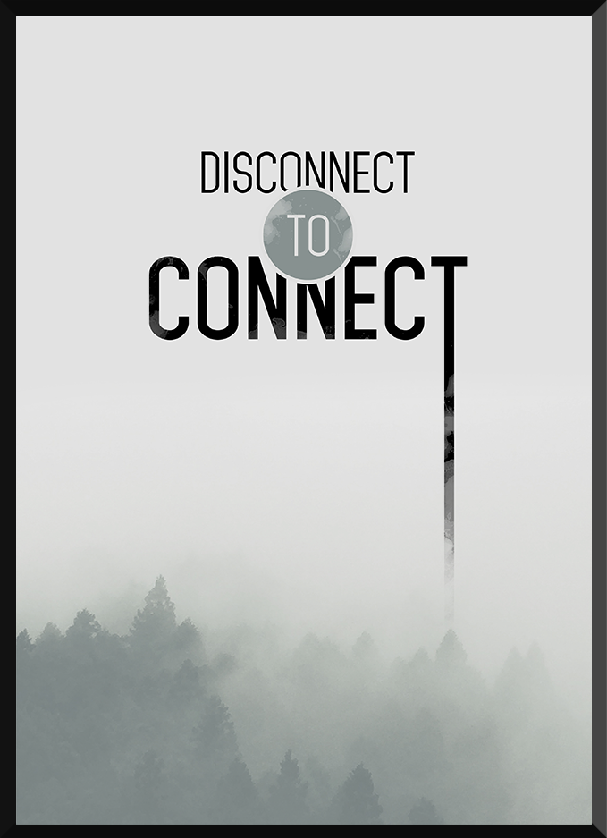 Disconnect to connect