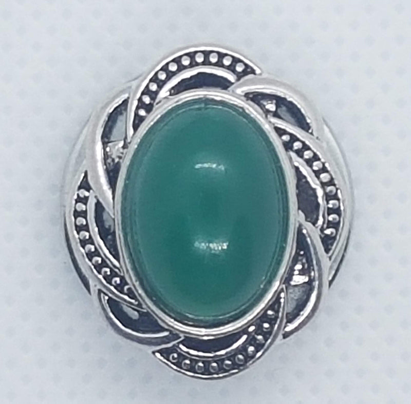 Antique oval with large stone (more color options available)