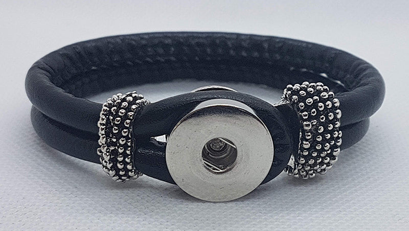 Leather rope bracelet (more color options available)