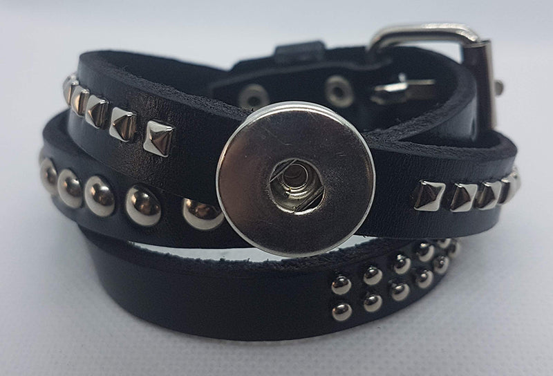 Leather wrap bracelet (more color options available)