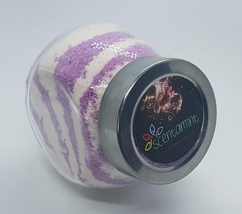 Bath Fizzy Jar - Black Cherry