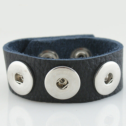 Leather bracelet (more color options available)