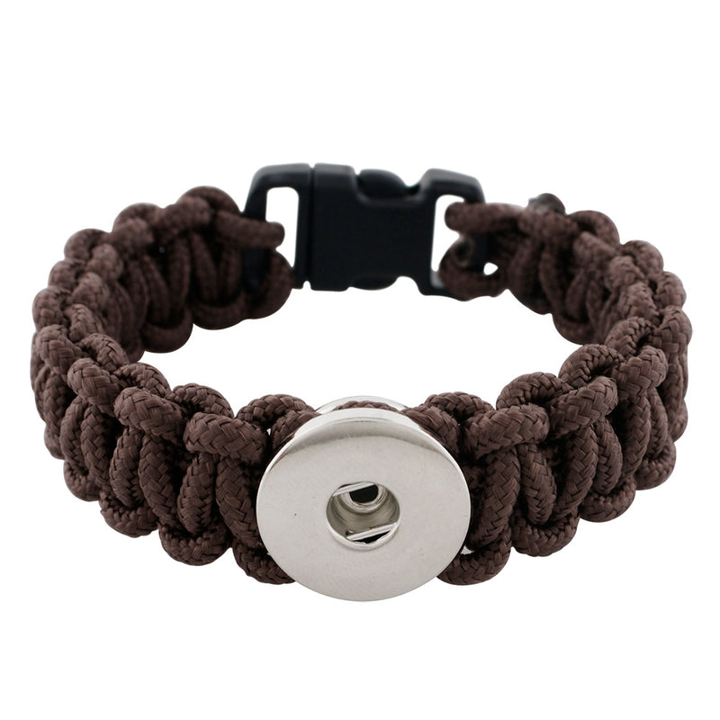 Paracord unisex rope bracelet (more color options available)