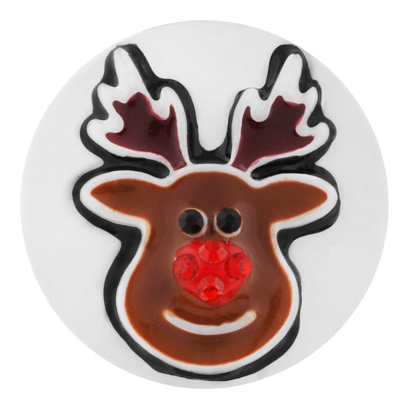 Rudolph with red rhinestone nose