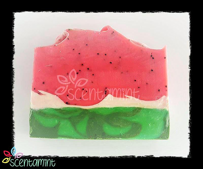 Scentamint - Handmade Soap - Watermelon