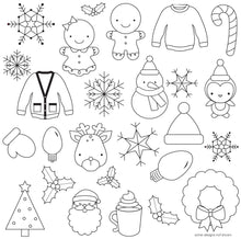 Christmas and Winter Pattern Sheets